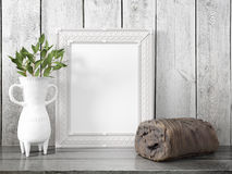 Zombaria acima do quadro vazio rendição 3d Imagem de Stock Royalty Free