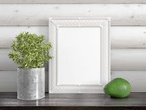 Zombaria acima do quadro vazio rendição 3d Fotos de Stock