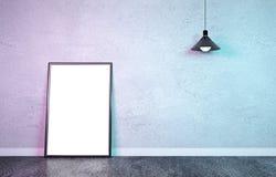 Zombaria da arte finala do cartaz da luz dobro acima ilustração royalty free