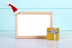 Zombaria do feriado do Natal acima foto de stock royalty free