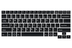 Zombaria do teclado do vetor para seus alguns usos Imagem de Stock