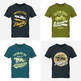 Zombaria gasto do t-shirt acima Imagens de Stock Royalty Free