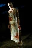 zombi πορτρέτου Στοκ Εικόνα