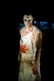 zombi портрета Стоковые Изображения