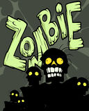 zombi illustration de vecteur
