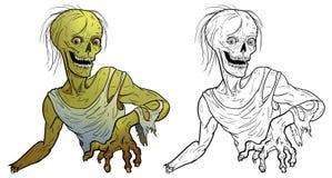 zombi Foto de Stock