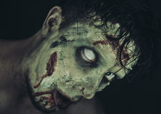 Zombi assustador Imagem de Stock