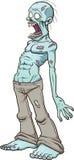 Zombi criard illustration de vecteur