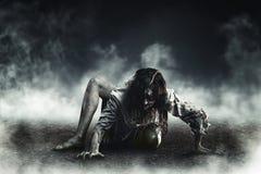 Zombi da bruxa Imagens de Stock