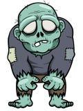 Zombi de la historieta Imagen de archivo libre de regalías