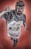 Zombi del carnicero Imagen de archivo