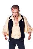 Zombi del mal del vampiro fotografía de archivo