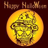 Zombi E de la momia de Halloween Fotografía de archivo libre de regalías