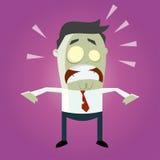 Zombi engraçado dos desenhos animados Imagem de Stock Royalty Free