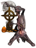 Zombi - figura de Halloween Imagem de Stock