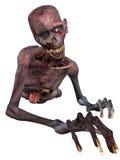 Zombi - figura de Víspera de Todos los Santos Foto de archivo