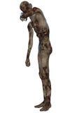 Zombi - figura de Víspera de Todos los Santos Imágenes de archivo libres de regalías