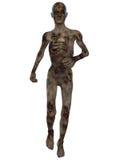 Zombi - figura de Víspera de Todos los Santos Imagenes de archivo