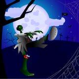 Zombi Halloween Fotografía de archivo libre de regalías