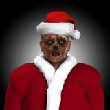 Zombi Santa Imagens de Stock Royalty Free