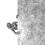 Zombi tenant le panneau d'affichage Photos libres de droits