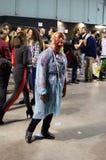 Zombieën in Cartoomics 2014 Stock Foto's