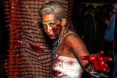 Zombieën met kettingen royalty-vrije stock foto's