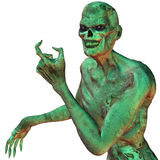 Zombie. 3d rendering a creature than illustration in zombie style Stock Photography