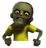 Zombie. 3d illustration of a zombie boy royalty free illustration