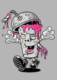 zombie illustrazione di stock