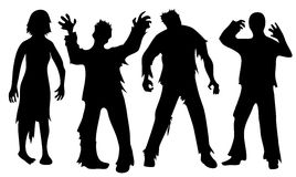 zombie royalty ilustracja