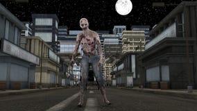 zombie διανυσματική απεικόνιση