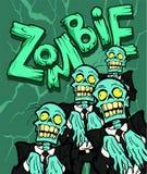 zombie Fotografie Stock Libere da Diritti