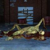 zombie illustrazione di stock