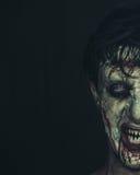 Zombie affamato fotografia stock