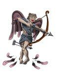 Zombie angel Stock Photo