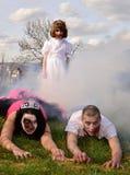 Zombie-Angriff stockfotografie