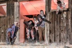 Zombie-Angriff Stockfoto