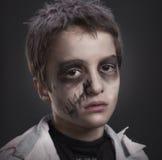 Zombie Apocalypse. A young zombie awaits the coming apocalypse stock photos