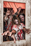 Zombie attack Stock Photography