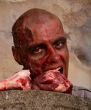 Zombie attack Royalty Free Stock Photos