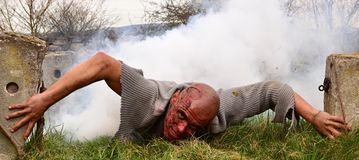Zombie attack Stock Photos