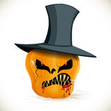 Zombie bad pumpkin Stock Photos