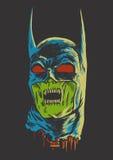 Zombie batman Royalty Free Stock Photo
