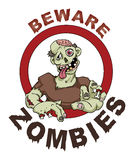 Zombie stock illustration