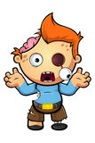 Zombie Boy Character Stock Photo