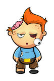Zombie Boy Character Stock Photos