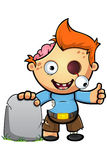 Zombie Boy Character Stock Image
