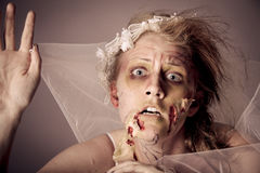 Zombie Bride undead Stock Photos