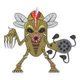Zombie bugs cartoon2 Stock Image